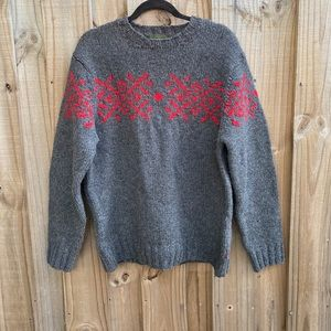 Timberland Vintage Hand Knit Sweater M